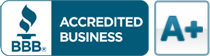 BBB® Accredited Business A+ Rating
