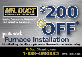 Furnace Installation Coupon