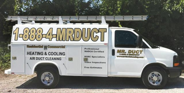 Call Mr. Duct for all your Ventilation Cleaning Services!